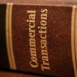 A photo of commercial transactions law book