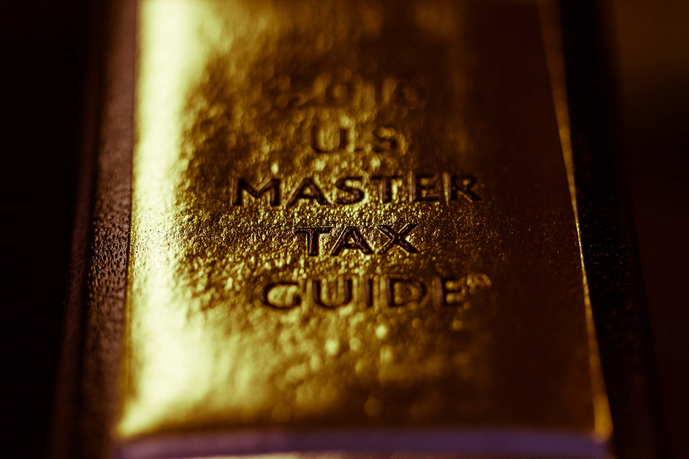 A photo of master tax guide